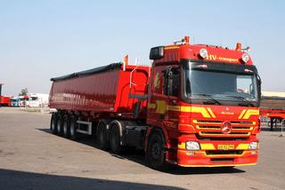 Entreprenørkørsel – HV-Transport A/S